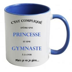 Mug C'est compliqué d'être une princesse et une gymnaste à la fois mais ça va je gère Cadeau D'amour