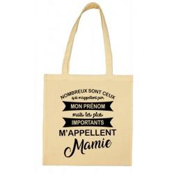 Tote bag les plus importants m'appellent Mamie Cadeau D'amour