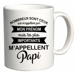 Mug les plus importants m'appellent Papi Cadeau D'amour