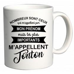 Mug les plus importants m'appellent Tonton Cadeau D'amour