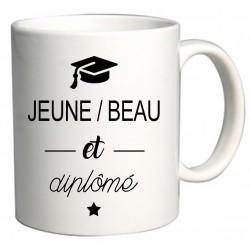Mug Jeune Beau et Diplômé Cadeau D'amour