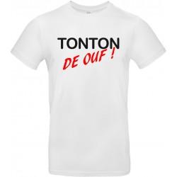 T-shirt homme Col Rond Tonton de Ouf ! Cadeau D'amour