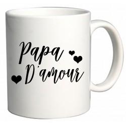 Mug Papa D'amour Cadeau D'amour