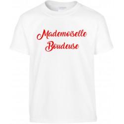 T-shirt enfant Mademoiselle Boudeuse Cadeau D'amour