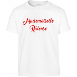 T-shirt enfant Mademoiselle Râleuse Cadeau D'amour