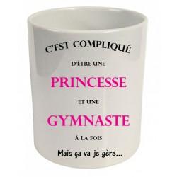 Pot à crayons c'est compliqué d'être une princesse et une gymnaste à la fois Cadeau D'amour