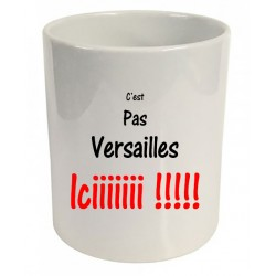 Pot à crayons c'est pas Versailles iciiiiii ! Cadeau D'amour