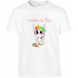 T-shirt enfant Créature de rêve Cadeau D'amour