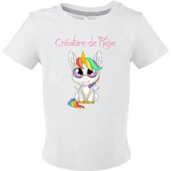 T-shirt bébé Créature de rêve Cadeau D'amour