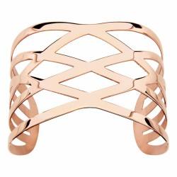 Bracelet manchette en acier Doré Rose Thabora Thabora
