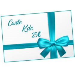 Carte Cadeau - 25 € Cadeau D'amour