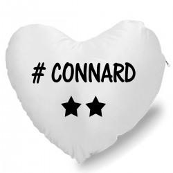 Coussin Cœur connard 2 étoiles Cadeau D'amour