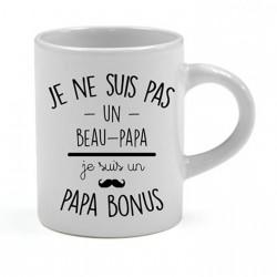 Tasse expresso Je ne suis pas un beau-papa je suis un papa bonus Cadeau D'amour
