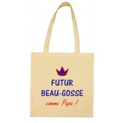 Tote bag Futur Beau-Gosse comme Papa Cadeau D'amour