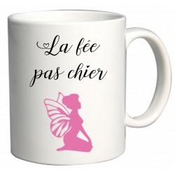 Mug La fée pas chier Cadeau D'amour