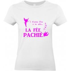 T-shirt femme Col Rond Cette Fée à 40 ans La Fée Pachié Cadeau D'amour