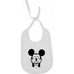 Bavoir Mickey malpoli Cadeau D'amour