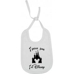 Bavoir J'peux pas J'ai Disney Cadeau D'amour