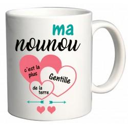 Mug Ma nounou c'est la plus gentille de la terre Cadeau D'amour