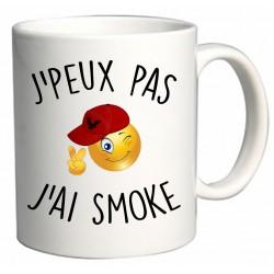 Mug J'peux pas J'ai smoke Cadeau D'amour