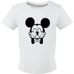 T-shirt bébé Mickey malpoli Cadeau D'amour