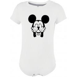 Body manches courtes Mickey malpoli Cadeau D'amour