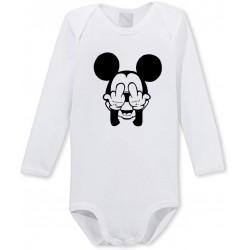 Body manches longues Mickey malpoli Cadeau D'amour